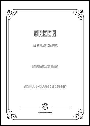Green in G flat Major
