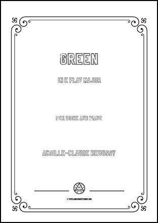 Green in E flat Major
