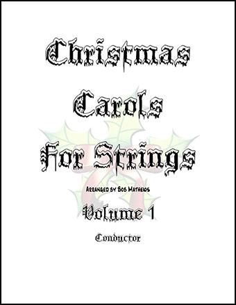 Christmas Carols For Strings Volume 1