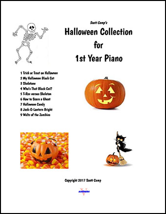 Halloween Collection for First Year Piano