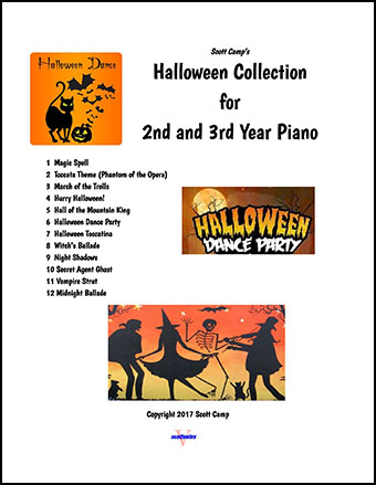 Halloween Collection for Second/Third Year Piano