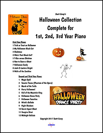 Halloween Collection for Piano