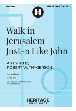 Walk in Jerusalem Just-A Like John Thumbnail