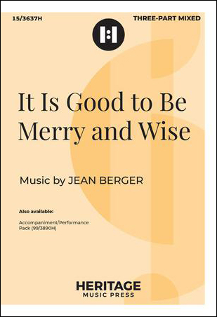 It Is Good to Be Merry and Wise