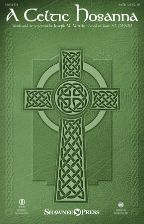 A Celtic Hosanna church choir sheet music cover