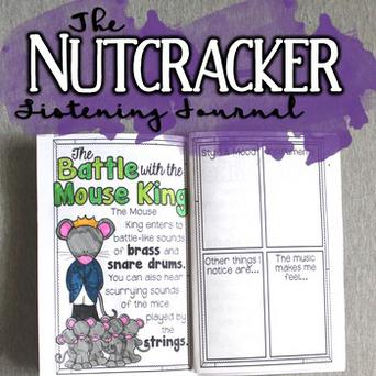 The Nutcracker Listening Journal & Fact Sheets