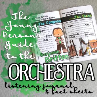 The Young Person's Guide to the Orchestra Listening Journal & Fact Sheets