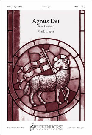 Agnus Dei church choir sheet music cover