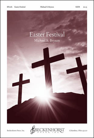 Easter Festival church choir sheet music cover