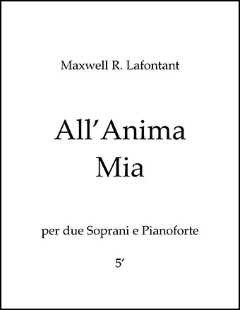 All'Anima Mia