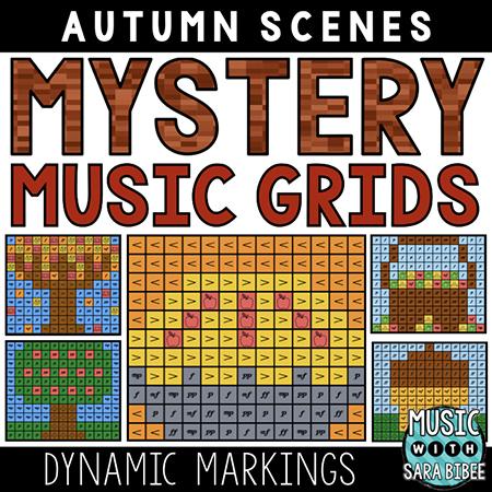 Autumn Mystery Music Grids - Dynamics