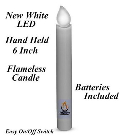 SafeFlame LED Flameless Vigil Candles