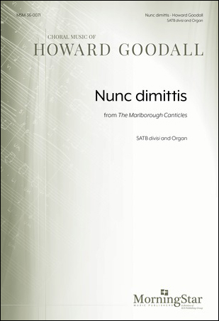 Nunc dimittis from The Marlborough Canticles