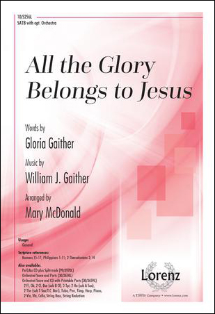 All the Glory Belongs to Jesus