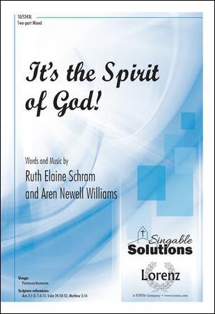 It's the Spirit of God!