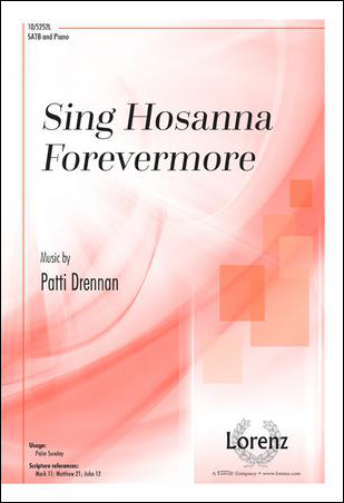 Sing Hosanna Forevermore church choir sheet music cover