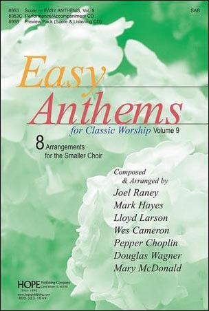 Easy Anthems for Classic Worship