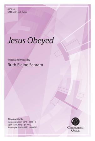 Jesus Obeyed