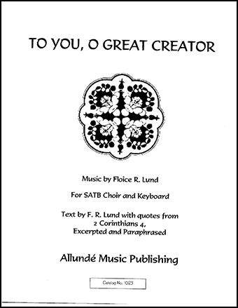 To You, O Great Creator