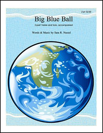 Big Blue Ball Cover