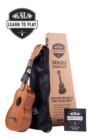 Learn to Play Starter Kit Soprano Ukulele