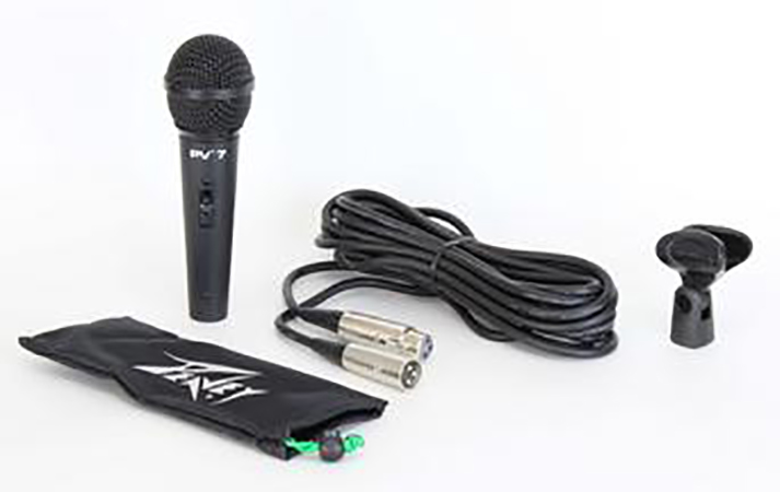 Peavey PV7 XLR Microphone with XLR Cable