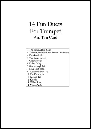14 Fun Duets For Trumpet