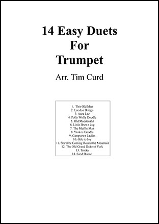 14 Easy Duets For Trumpet
