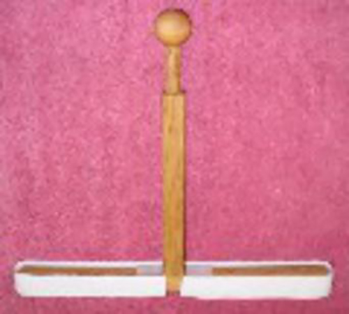 Two Hand Mallet with Velcro