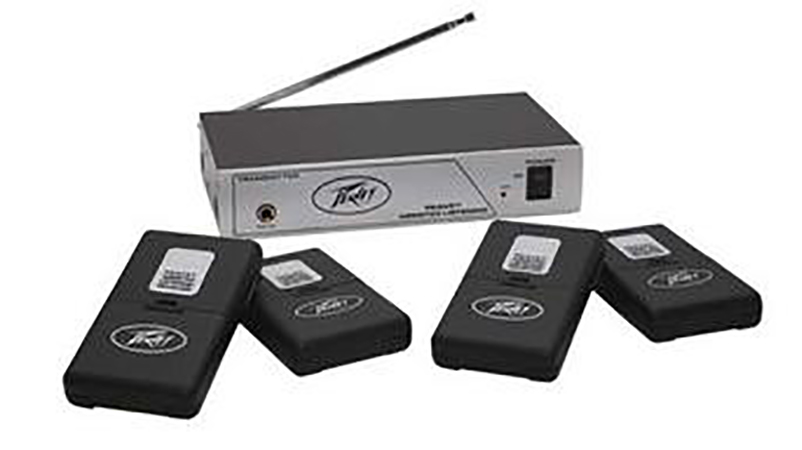 Peavey Assisted Listening System 72.1 MHz
