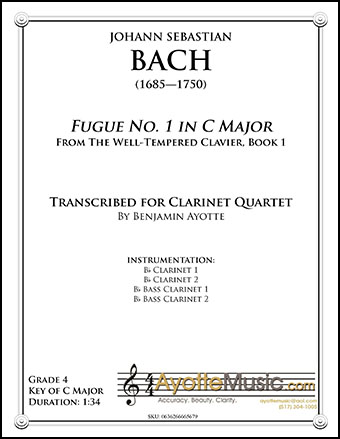 Fugue No. 1 in C Major