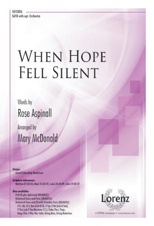 When Hope Fell Silent