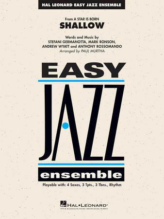 Shallow jazz sheet music cover