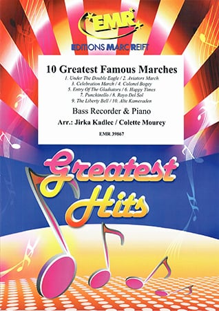 10 Greatest Famous Marches Cover