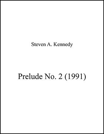 Prelude No. 2
