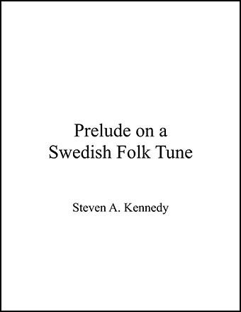Prelude On A Swedish Tune