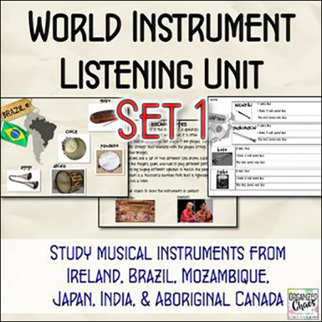 World Instruments Listening Unit 1 Thumbnail