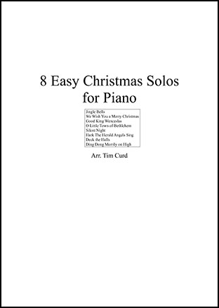 8 Easy Christmas Solos for Piano