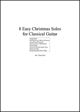 8 Easy Christmas Solos for Guitar
