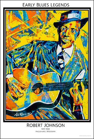 Early Blues Legends, Robert Johnson