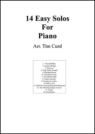 14 Easy Solos for Piano