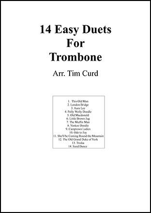 14 Easy Duets For Trombone