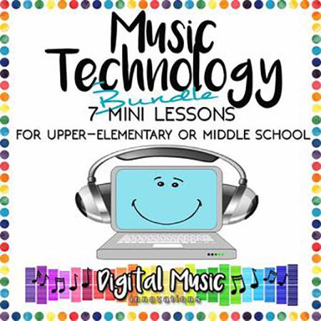 Music Technology Bundle: 7 Mini-Lessons for GarageBand Thumbnail