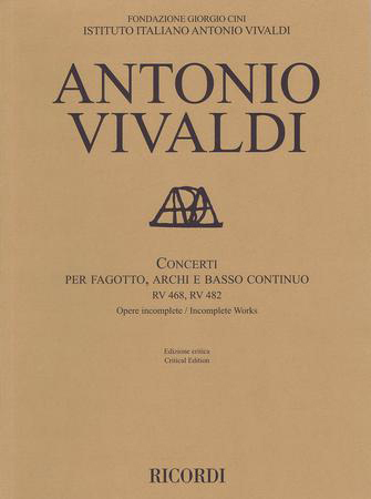 Concerti, RV 468 & 482