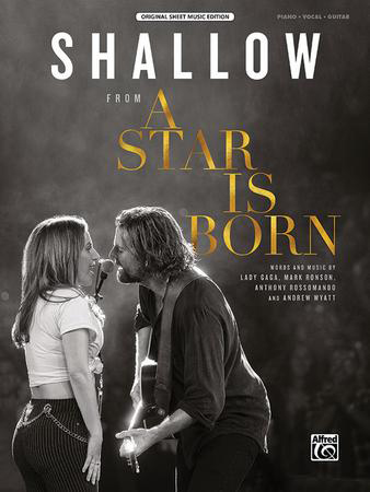 Shallow vocal sheet music cover