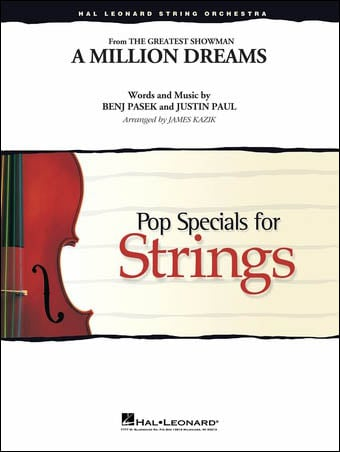 A Million Dreams choral sheet music cover
