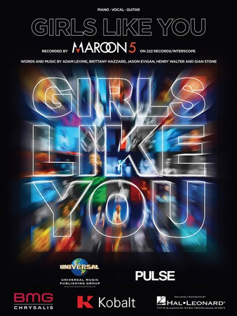 Girls Like You vocal sheet music cover