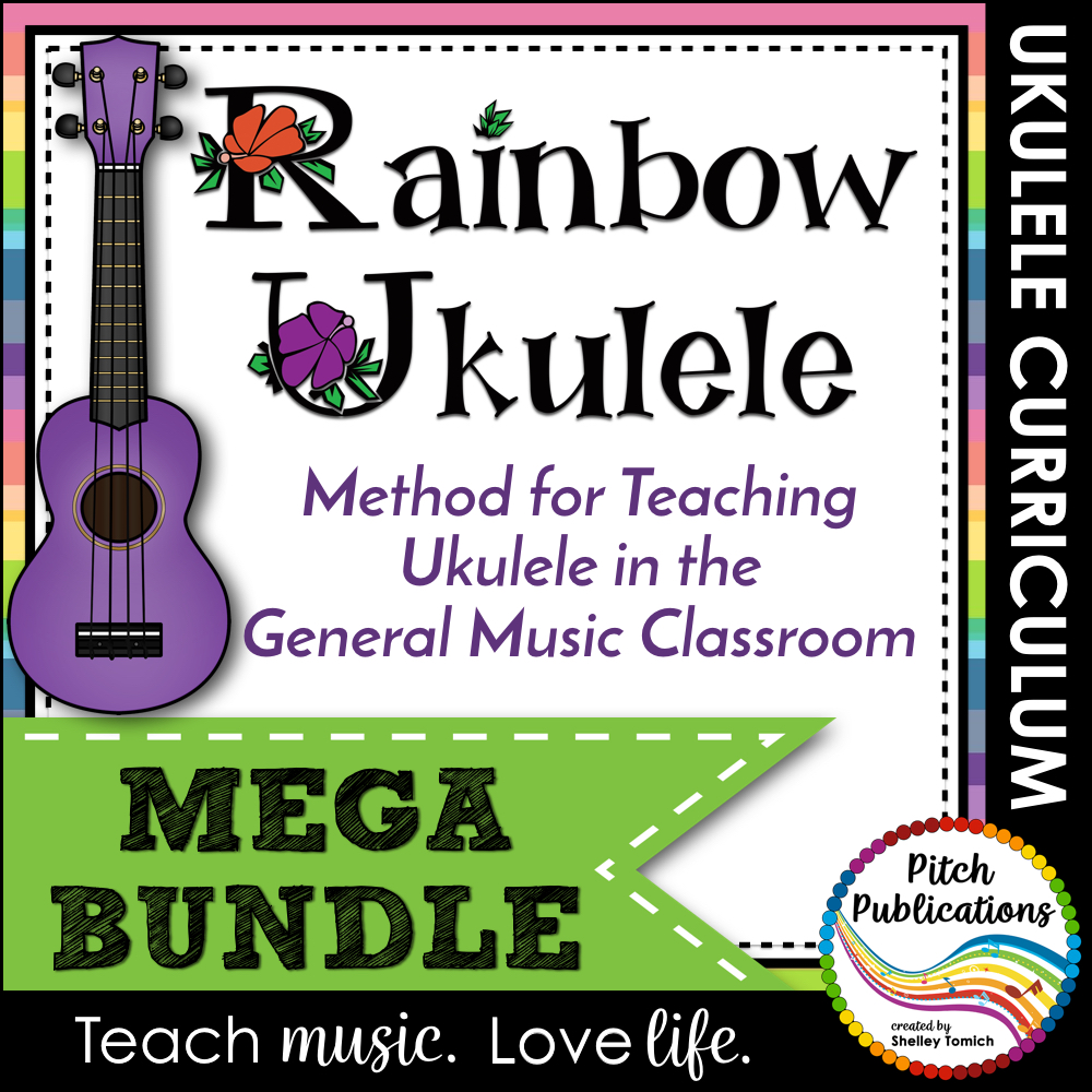 Rainbow Ukulele Mega-Bundle