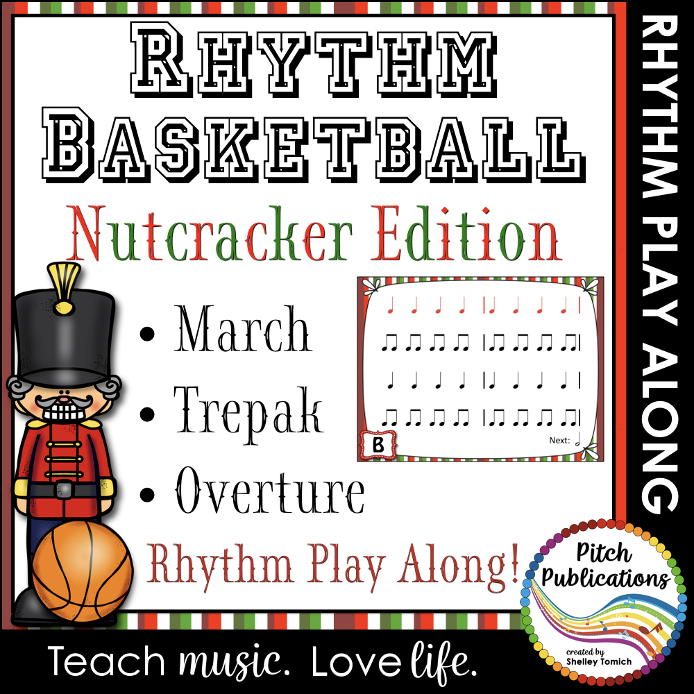 Rhythm Basketball : The Nutcracker classroom sheet music cover
