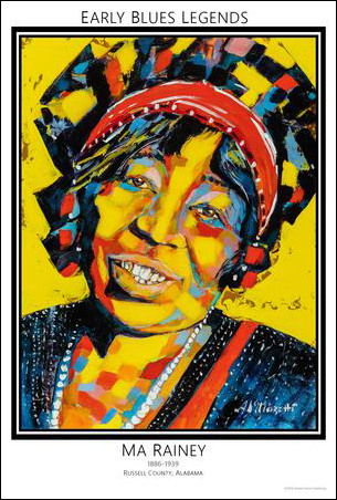 Early Blues Legends, Ma Rainey
